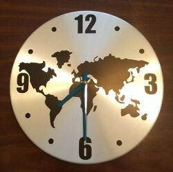 IKEA PERSBY World Map Wall Clock 12 -Retired-