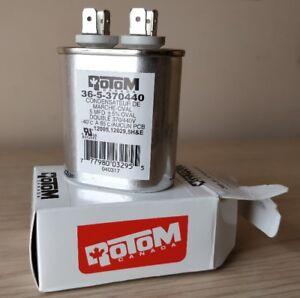 Motor Running Capacitor 5MFD +/- 5% 370V/440V