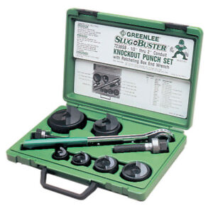 Greenlee knock out set