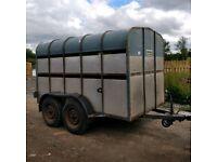 Crooks 10ft x 5ft9'' cattle trailer