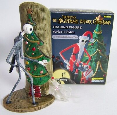 Nightmare Before Christmas Trading figure Welcome to town Series 1 Jun Planning