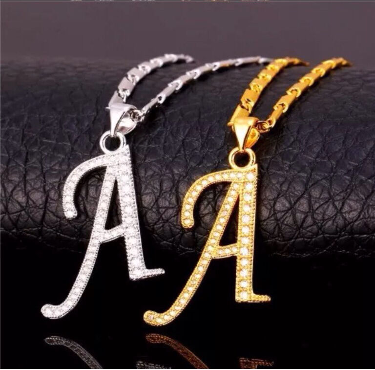 Fashion Jewellery Alphabet Capital Initial A Letter PendantNecklace Gold Plated CZ Stonesin Putney, LondonGumtree - Capital Initial A letter pendant & chain for men/women charm jewellery fashion gold plated cubic zircon Alphabet hot snecklaceMaterial 18K Gold Plated( not solid gold)Chain Length 50cm