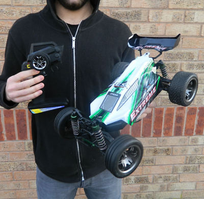 RADIO REMOTE CONTROL RC CAR/BUGGY VERY FAST 1:12th READY TO RUN 2.4G EXTREME