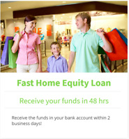 Fast Home Equity Lending up to 30k - No Appraisal or Legal Fees