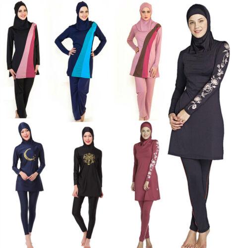 Muslim Swimwear Woman Bathing Suit Burqini red Burqini