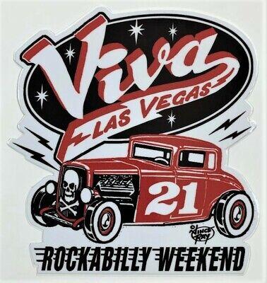 l Viva Las Vegas 21 Rockabilly Weekend Artist Vince Ray (Hot-sticker)