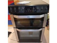 SOLD Belling electric ceramic 60cm cooker free delivery