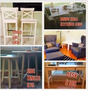 MORE DISCOUNTS ON REMAINING 8 WEEK OLD FURNITURE ITEMS FOR SALE