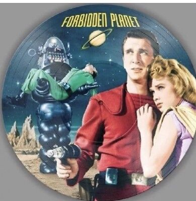 FORBIDDEN PLANET - SOUNDTRACK - Picture Disc Vinyl - 2018 Pressing - Brand New