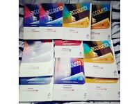 AAT Diploma Accounting books Set of 10 Osborne books