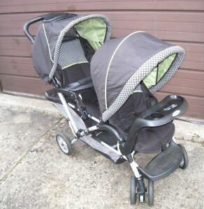 Used Graco Duoglider Double Stroller in good condition