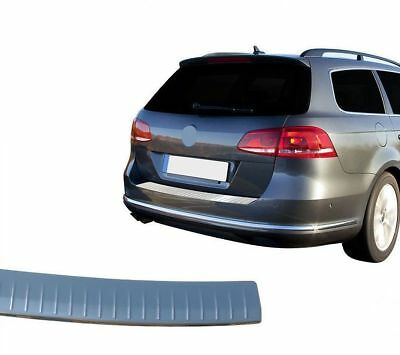 VW Passat 3C B7 Estate Chrome Rear Bumper Protector Scratch Guard SSteel