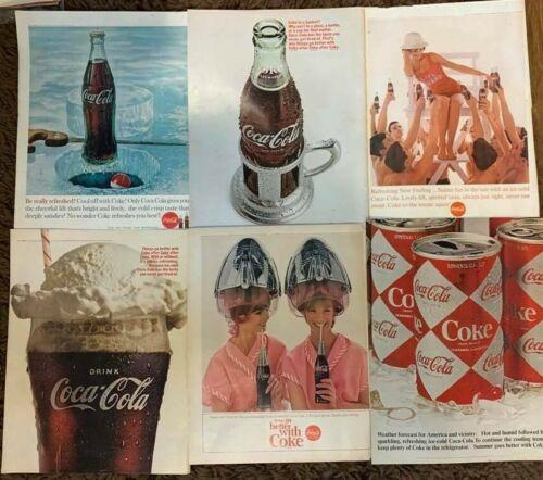 LOT of 13 Vintage COCA COLA 1960