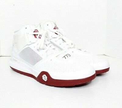 Adidas D Rose 773-4 white Red  Basketball men's Shoes size 16 New
