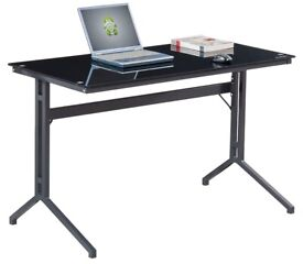 Piranha Toughened Glass PC Desk