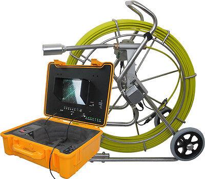 Trojan Self Leveling Plumbing Snake Camera System10 Lcd 512hz Transmitter