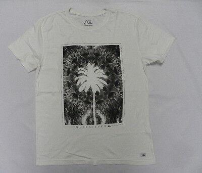 Quiksilver Tshirts Medium Modern fit Mushroom Off Whites
