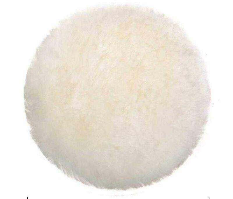 4pcs 7inch Polishing Pads Bonnets Lamb Wool Buffer Pads Car Care