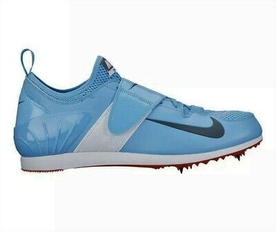 New Mens Nike Zoom PV II Pole Vault Spikes Shoes Blue Black White 317404-446