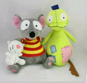 """4"""" Binoo And 9"""" Toopy And 12"""" Patchy Patch Soft Stuffed Plushes"""