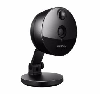 Wireless Security Camera with Built-In PIR Sensor and 115deg View Malaga Swan Area Preview