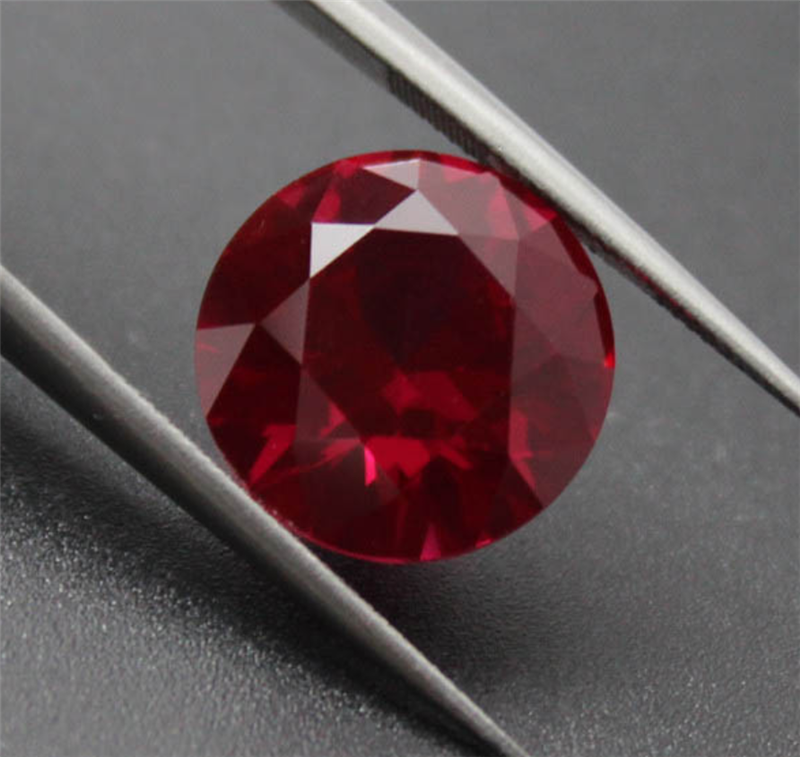2mm ROUND CUT LOOSE NATURAL PIGEON BLOOD RED COLOR RUBY
