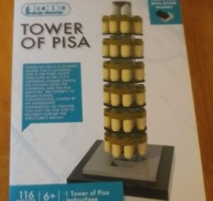 Blokko Tower of Pisa 116PCS works with Lego
