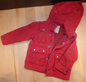 Very cute Cotton lined spring coat, ZARA BOYS, size 3 - 4T