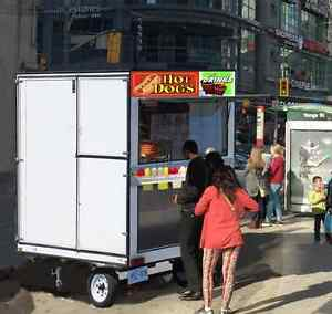 Hotdog stand operator needed *Downtown* - Run your own business!