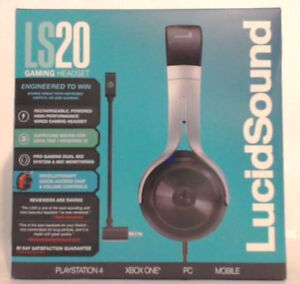 New LucidSound LS20 Powered Universal Gaming Headset