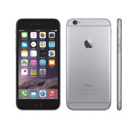LIKE NEW Iphone 6 16gb black bell/virgin