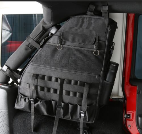 Pair Roll Bar Storage Bag Backpack For 07 17 Jeep Wrangler