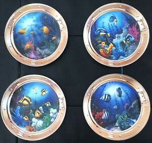Royal Doulton - Jewels of the Coral Deep Collectors Plates