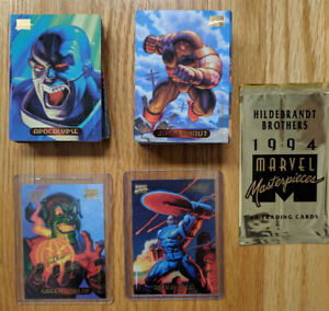 1994 MARVEL MASTERPIECES + SINGLE CARDS