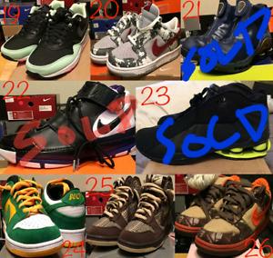 Nike SB dunks air max 1 men's sz8-8.5 deadstock
