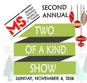 MS Society Two of a Kind Show   -----   Vendor Tables Available Kitchener / Waterloo Kitchener Area image 1