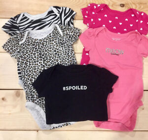 6-12 month girls summer clothes lot
