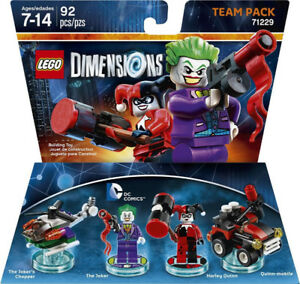 Lego 71229 Dimensions The Joker & Harley Quinn