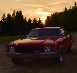 Beautiful Cranberry Red 1972 Chevrolet Chevelle!!!