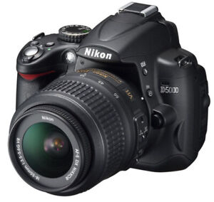 Nikon d5000 with free lens