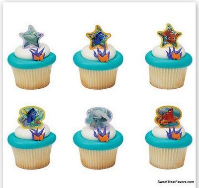 Finding Nemo Dory CupCake Cake Topper 12 18 24 Favor Decoration Ocean Movie - Cupcake Movie