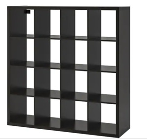 KALLAX 4x4 Storage Shelf Unit with 4 Storage Boxes!