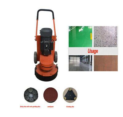 220v Electric Concrete Floor Grinder Universal Triangular Discsticky Disc239420
