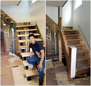 Stairs and Railings in Oakville