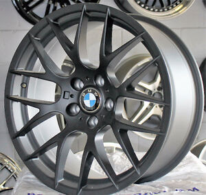 "SALE! BRAND NEW ALLOY 20"" BMW REPLICA STAGGERED RIMS 5x120; N.61"
