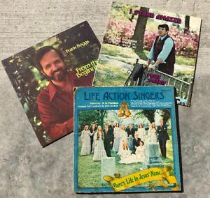 Antique gospel albums