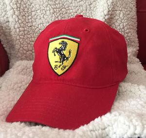 Casquette Ferrari - Produit Original - Neuf