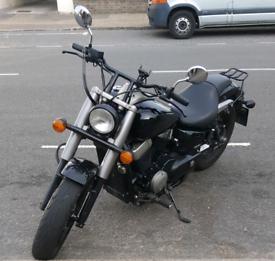 Honda Shadow VT750 Black Spirit