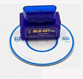 Super Mini ELM 327 V1.5 Bluetooth OBD-II OBD2 Car Diagnostic Scan Tool
