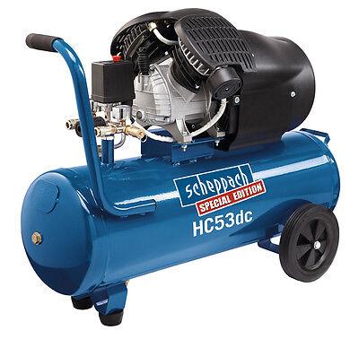 Kompressor HC53DC scheppach  - 230V/50Hz 2200W - 50L statt UVP 359 € nur 219 €